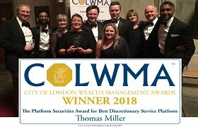 Thomas Miller Investment wins 'Best Discretionary Service' award