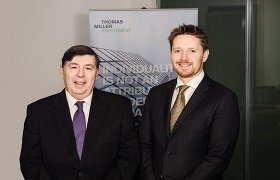 Thomas Miller Investment amongst Government Treasury's choice of investment managers