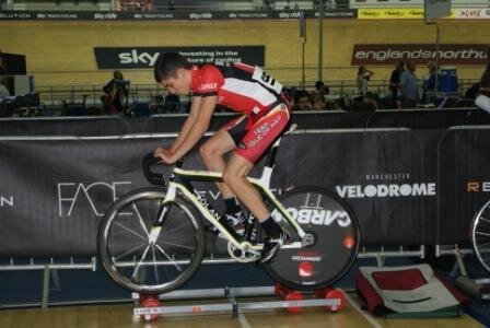 Thomas Miller Investment Sponsored Cyclist is on track