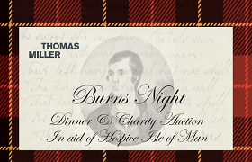 Thomas Miller Investment to host a Burns Night celebration in aid of Hospice Isle of Man