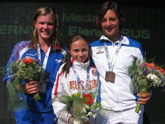 How did Grace perform at the Junior European Championship